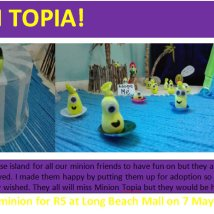 minion topia ad