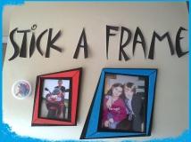 Stick a frame