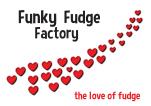 Funky fudge label